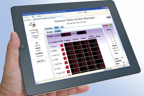 Cannon updates data centre management solution