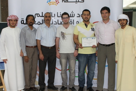 Student engineers win IEEE competition with microphone array