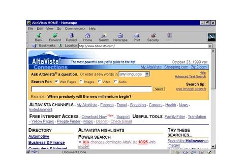 Search engine AltaVista to shut down