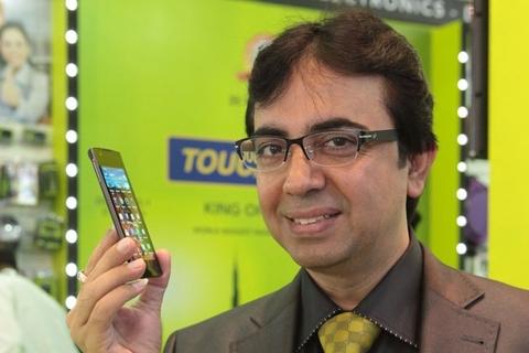 Touchmate unveils Blade smartphone