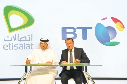 Etisalat signs BT for health ICT