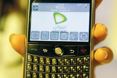 Etisalat launches email and IM-only BlackBerry service