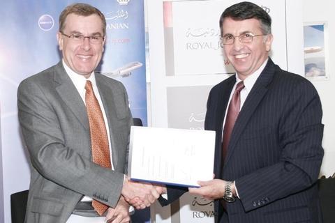Royal Jordanian flies for a decade with Amadeus