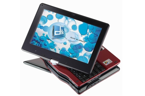 DTK netbook doubles as tablet PC