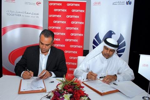 Aramex clears customs with B2G
