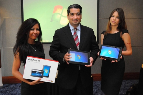 ViewSonic launches tablets