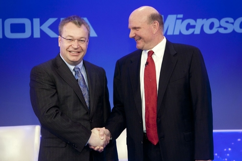 Nokia and Microsoft form alliance