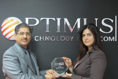 Opti-UPS signs Optimus for distribution