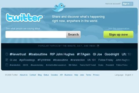 Taliban 'joins Twitter'