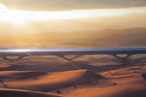 Abu Dhabi hyperloop construction set for Q3 2019