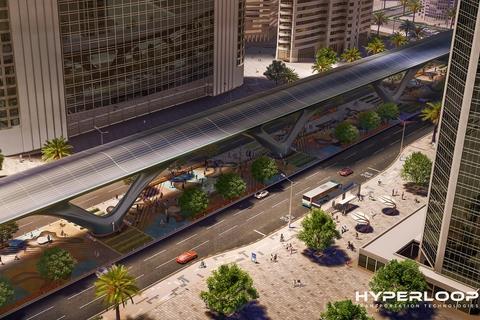 HyperloopTT's vision for the Abu Dhabi hyperloop