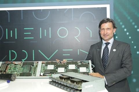HPE promotes Memory Driven Computing at GITEX