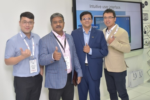 Newline Interactive signs DVCOM Technology for GCC