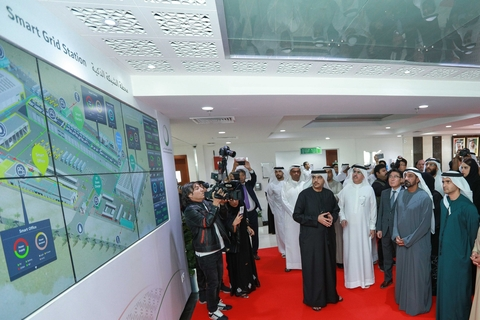 DEWA opens new Smart Grid Station