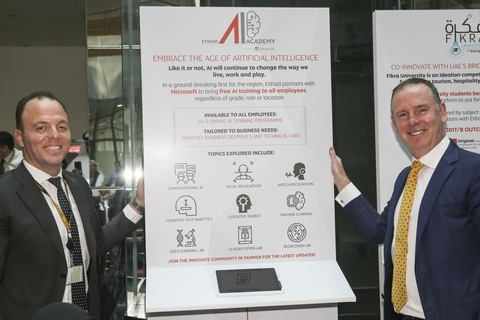 Etihad Airways opens inhouse AI Academy