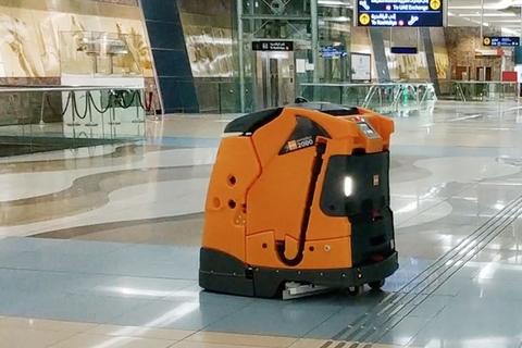 RTA testing robot cleaners on Dubai Metro