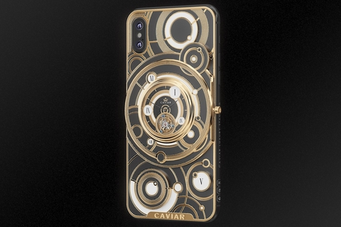 Caviar merges iPhone XS and high-end mechanical watch