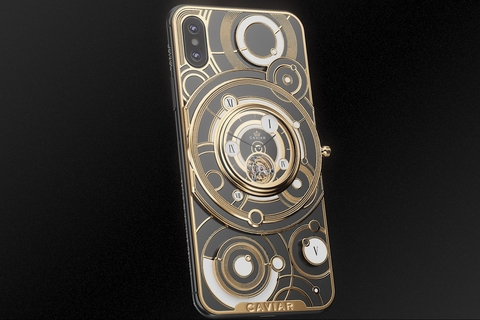 Luxury phone meets luxury watch