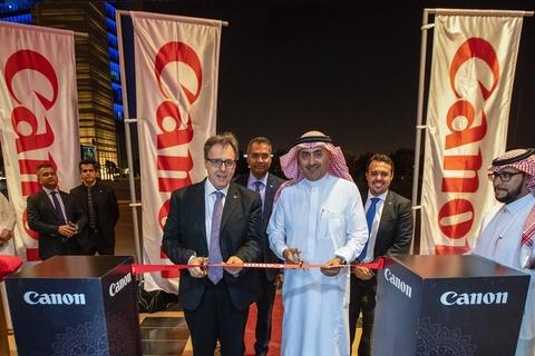 Canon Saudi Arabia opens in Riyadh