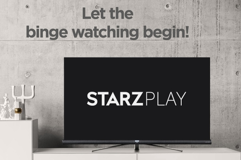 TCL has got Starz Play onboard