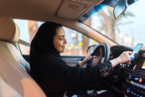 "Uber launches ""Women Preferred View"" for women drivers in Saudi Arabia"