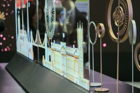 LG set to showcase transparent OLED signage at Dubai Show