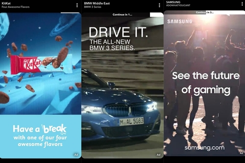 Snapchat announces advertising partners for commercials