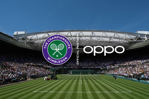 Oppo is the first official smartphone partner for Wimbledon