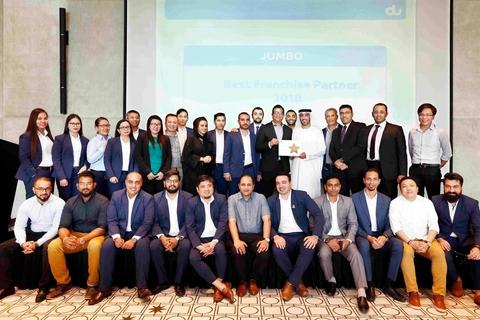 Jumbo Electronics wins big at du Partners Awards ceremony