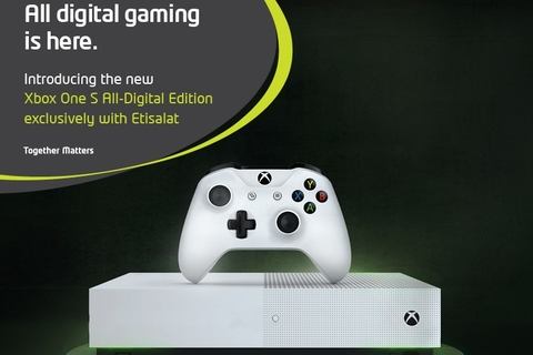 Etisalat exclusively offers Xbox One S all-digital edition in UAE