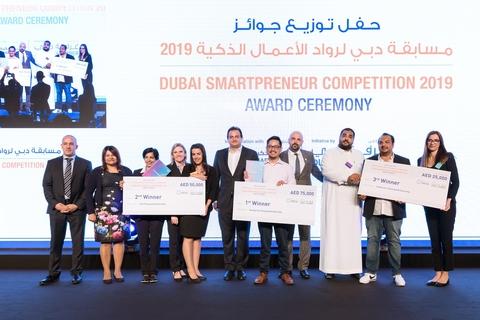 Startups win Dubai Smartpreneur Competition 4.0