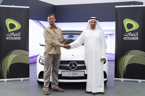 Etisalat rewards caller tunes 'Win a Car' promotion winners