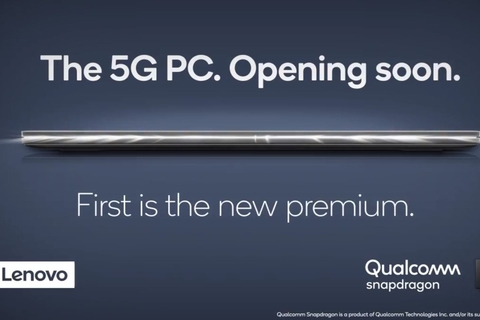 Qualcomm and Lenovo unveil world's first 5G PC