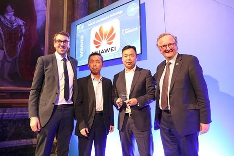 "Huawei wins ""Best 5G Core Network Technology"" award at 5G World Summit"