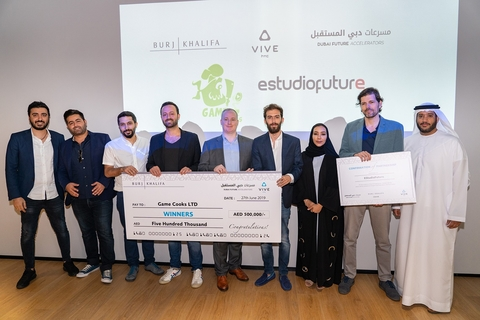 VR & Beyond competition winners announced by Dubai Future Accelerators, Burj Khalifa and HTC Vive