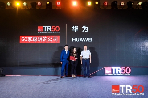 MIT technology review lists Huawei in 50 smartest companies