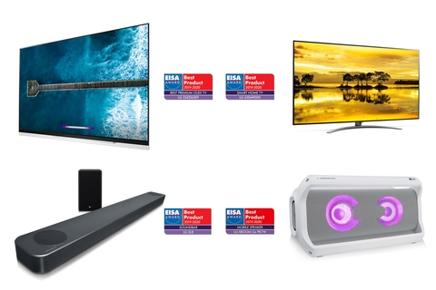 LG'S AI-Enabled TV and audio line up earn top accolades at EISA Awards