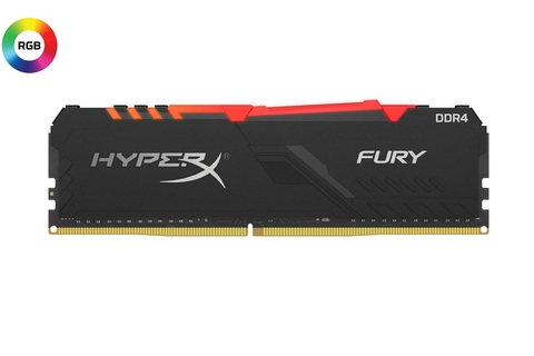 HyperX expands memory lineup with FURY DDR4 RGB