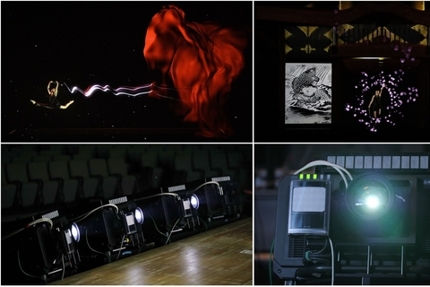 Panasonic's unveils real time projection mapping projector