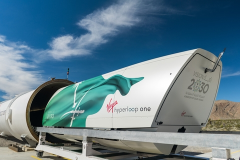 Hyperloop Study by Virgin Hyperloop One and KSA's King Abdullah Economic City Reveals $4 Billion Increase in Saudi GDP