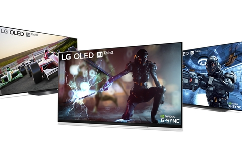 LG OLED TVs will get the Nvidia G-SYNC upgrade