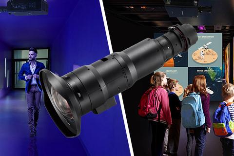 Panasonic's new range of lenses will power their new projectors