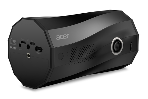 Acer releases a portable LED Projector with the World's First Auto-Portrait Mode