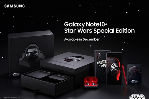 Samsung Announces Galaxy Note10+ Star Wars Special Edition and it's coming to the UAE!