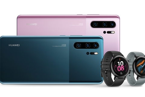 Huawei launches new color skins for P30 Pro and Watch GT