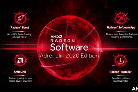 AMD launch Radeon Software Adrenalin 2020 Edition