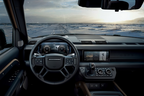 CES 2020 : The  New Land Rover Defender Showcases World-First Dual Esim Connectivity