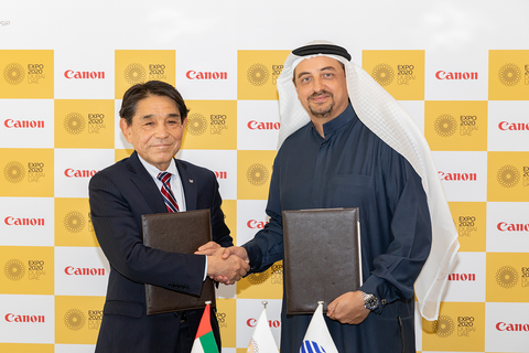 Canon named official printing and imaging provider partner for Expo 2020 Dubai