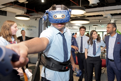 GEMS Dubai American Academy launches centre of excellence for robotics and AI