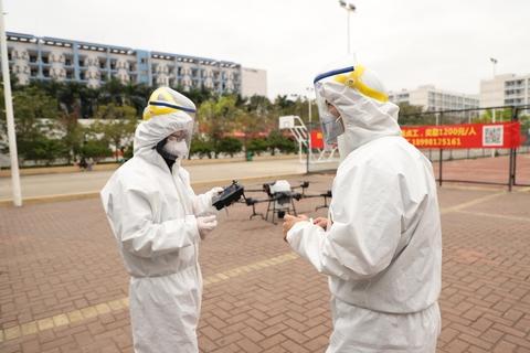 DJI is using drones to help fight the Coronavirus